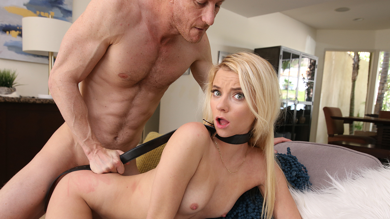 Fuck-punished by horny stepdad – Riley Star