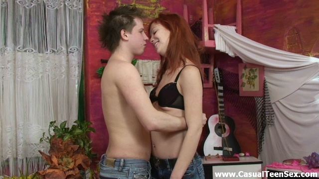 Best sex with redhead teeny