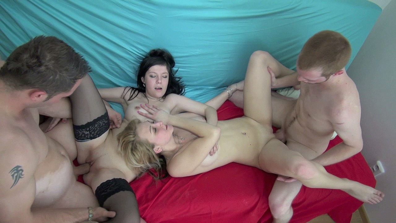 Darina & Arna - Fucking with the neighbors