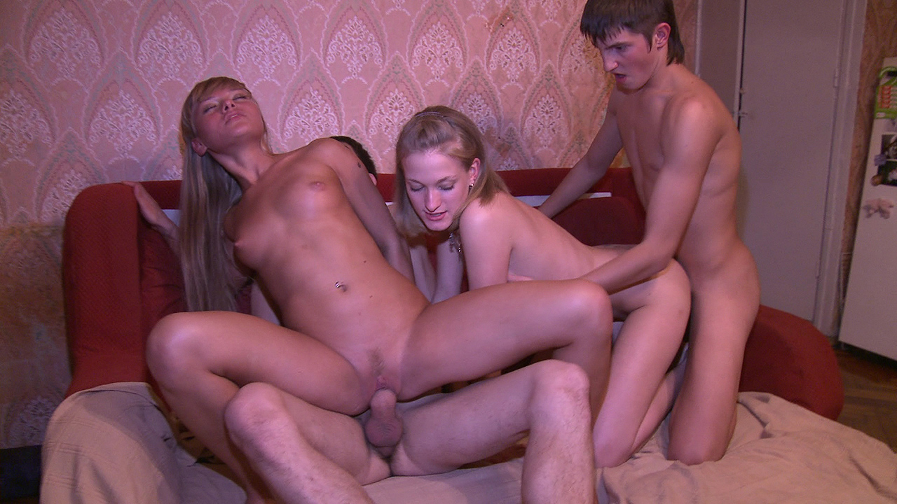 Two Couples Have Fuck
